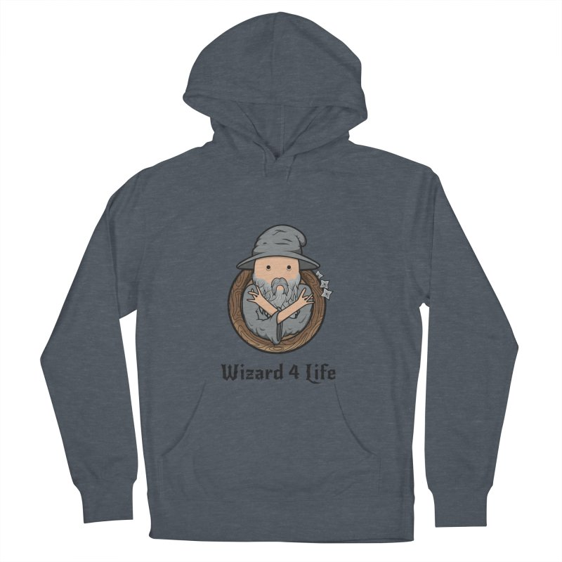 Wizard 4 Life Men's Pullover Hoody by megawizard's Artist Shop