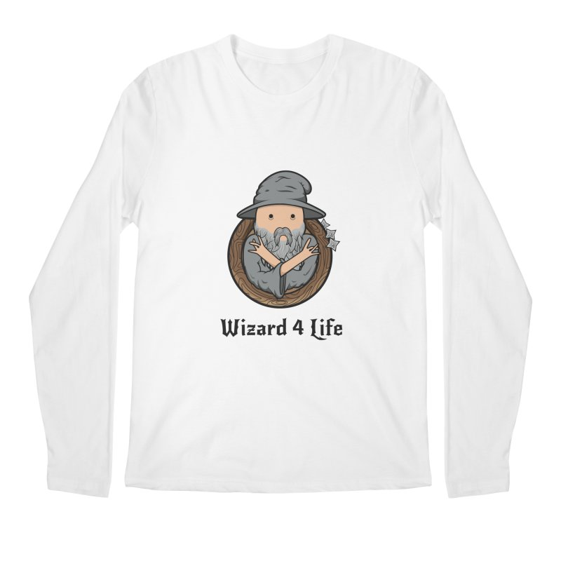 Wizard 4 Life Men's Longsleeve T-Shirt by megawizard's Artist Shop