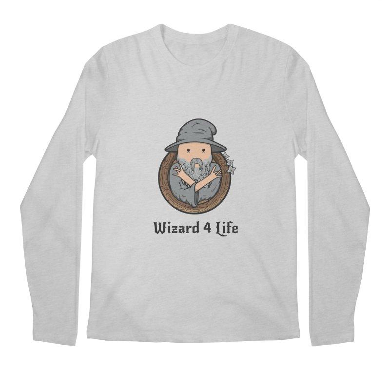 Wizard 4 Life Men's Longsleeve T-Shirt by megawizard's Artist Shop