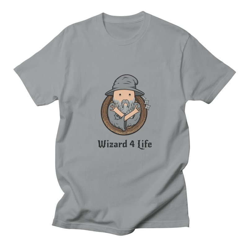 Wizard 4 Life in Men's T-Shirt Slate by megawizard's Artist Shop