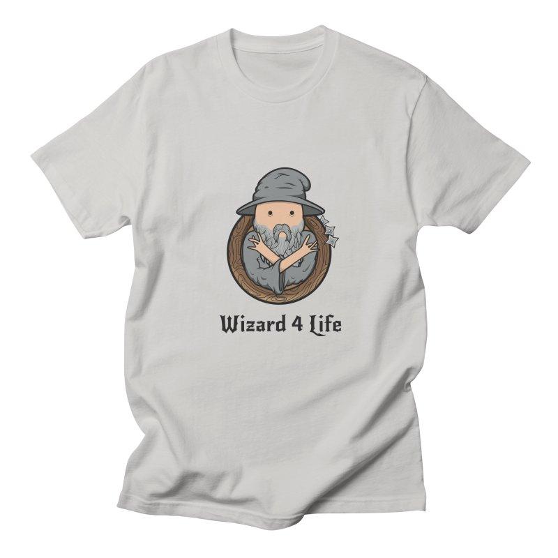 Wizard 4 Life Men's T-shirt by megawizard's Artist Shop