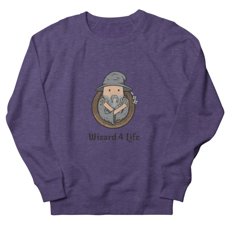 Wizard 4 Life Men's Sweatshirt by megawizard's Artist Shop
