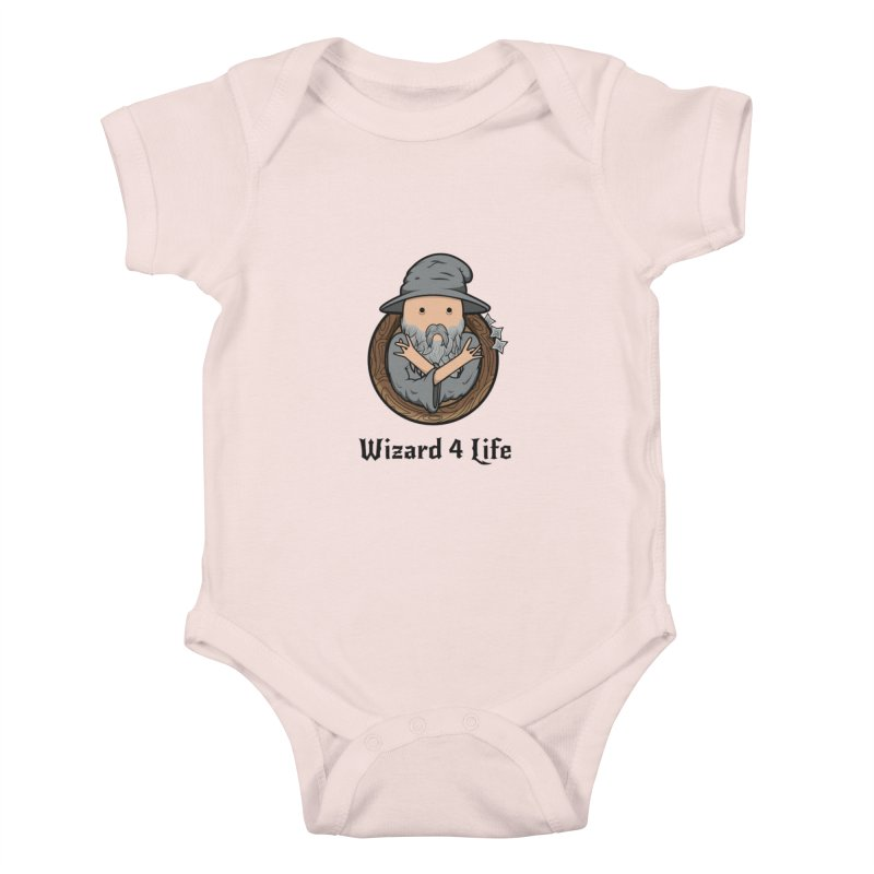 Wizard 4 Life Kids Baby Bodysuit by megawizard's Artist Shop