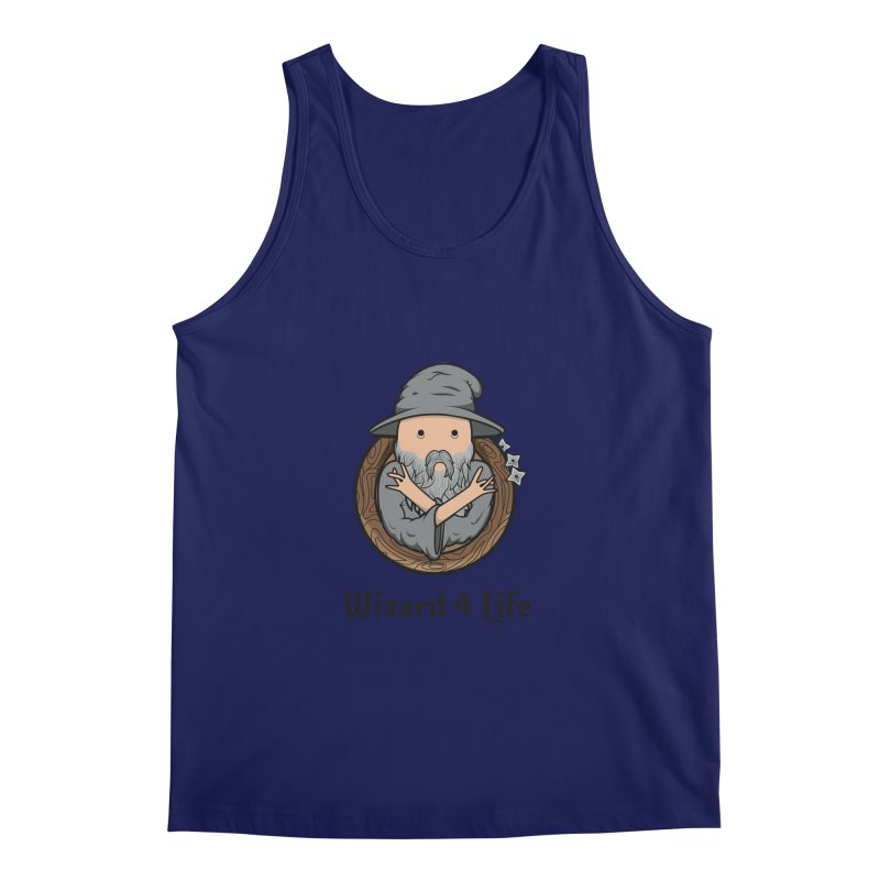Wizard 4 Life Men's Tank by megawizard's Artist Shop