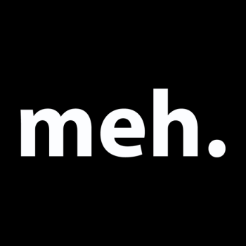 Meh. For Sale. Logo