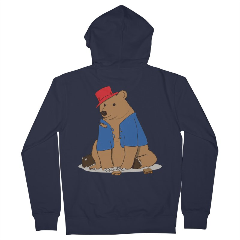 All Grown Up Men's French Terry Zip-Up Hoody by MeiDAS - Artist Shop