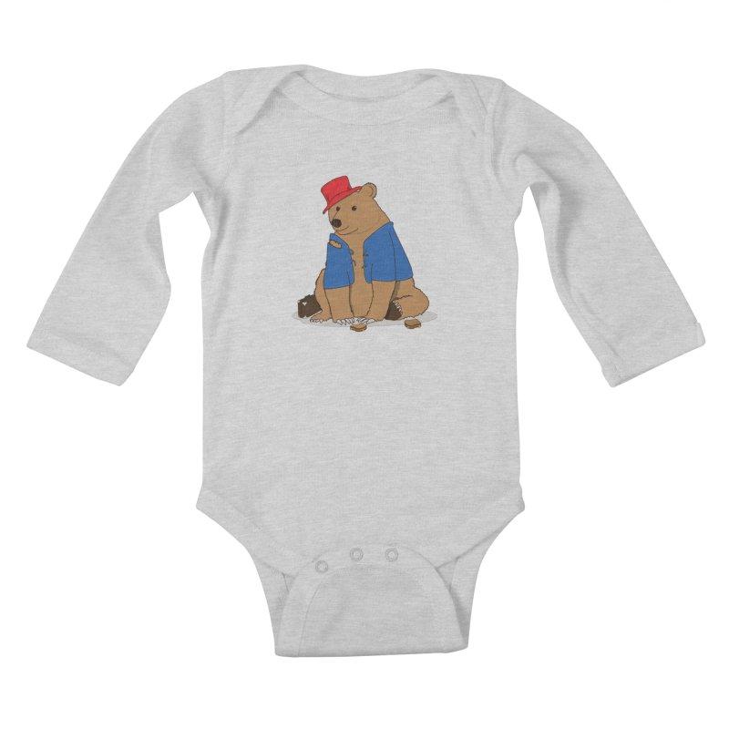 All Grown Up Kids Baby Longsleeve Bodysuit by MeiDAS - Artist Shop