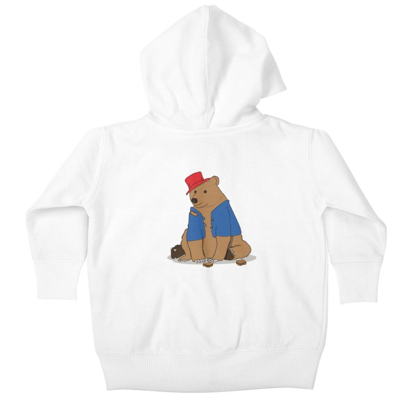All Grown Up Kids Baby Zip-Up Hoody by MeiDAS - Artist Shop