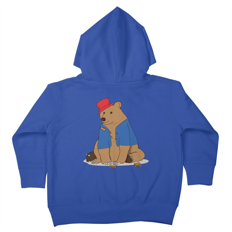 All Grown Up Kids Toddler Zip-Up Hoody by MeiDAS - Artist Shop