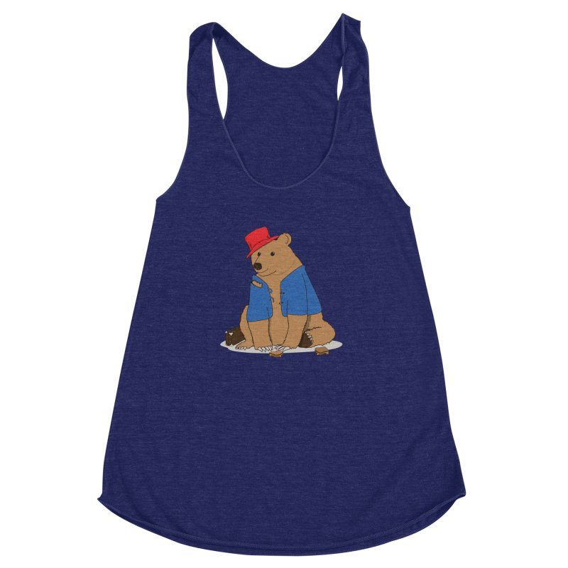 All Grown Up Women's Racerback Triblend Tank by MeiDAS - Artist Shop