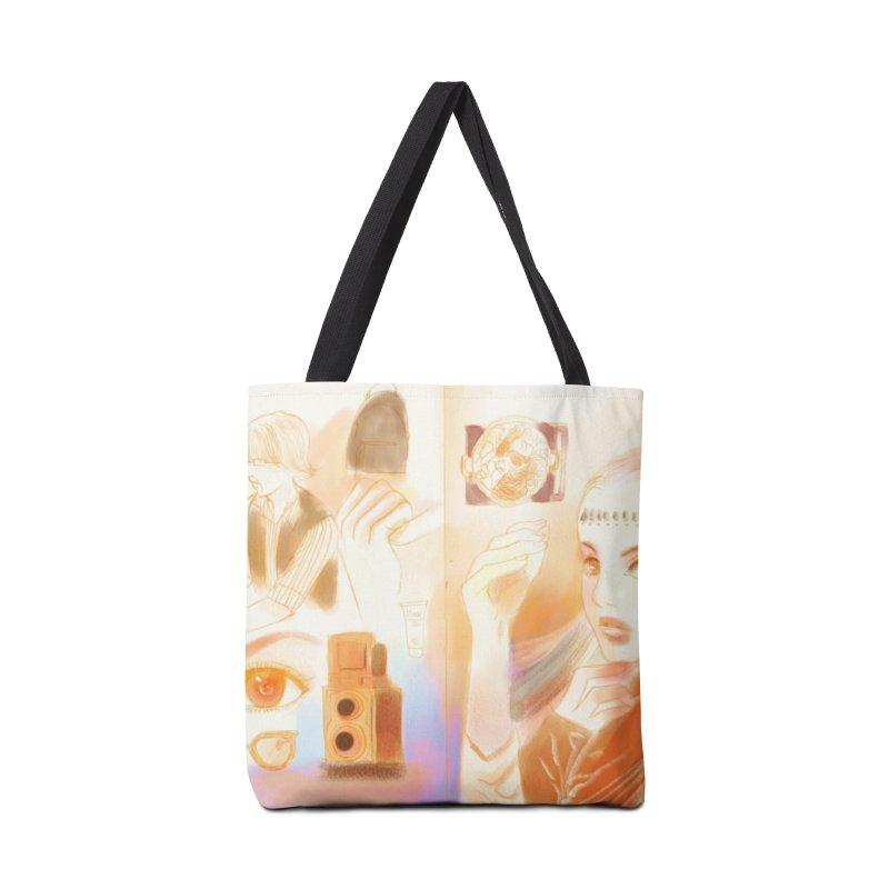 sketch mashup Accessories Bag by meisanmui's Artist Shop