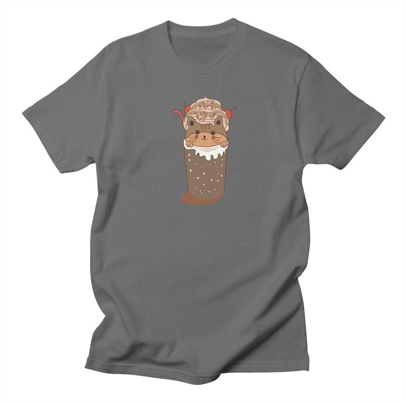 cat in a cofffee cup Men's T-Shirt by meisanmui's Artist Shop