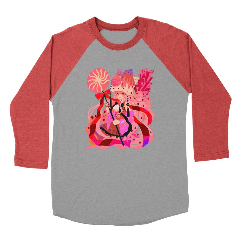 Chocolate Raspberry Cupcake Men's Longsleeve T-Shirt by meisanmui's Artist Shop