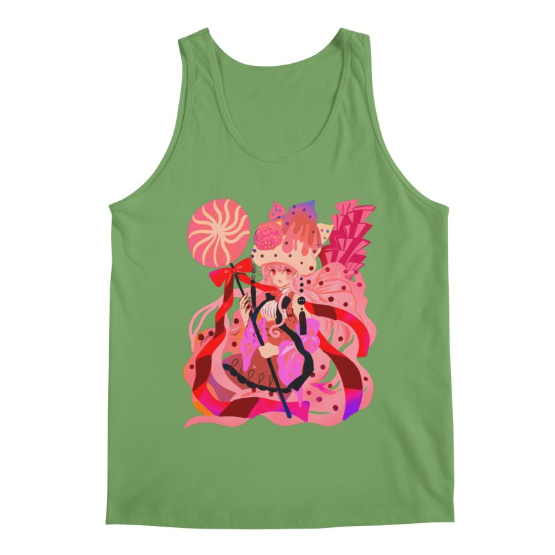 Chocolate Raspberry Cupcake Men's Tank by meisanmui's Artist Shop