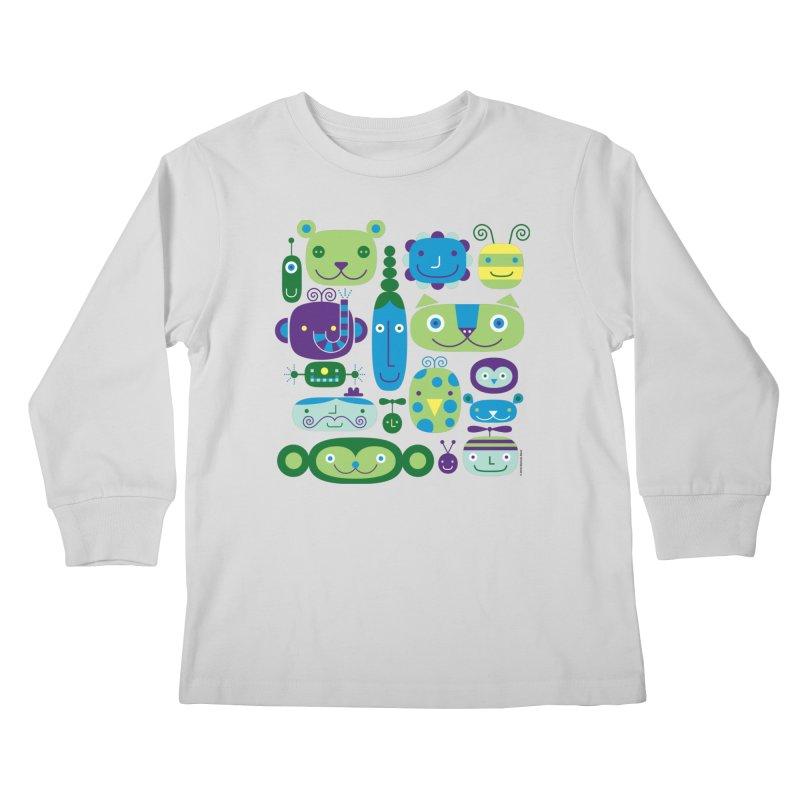 Friends Kids Longsleeve T-Shirt by Melinda Beck