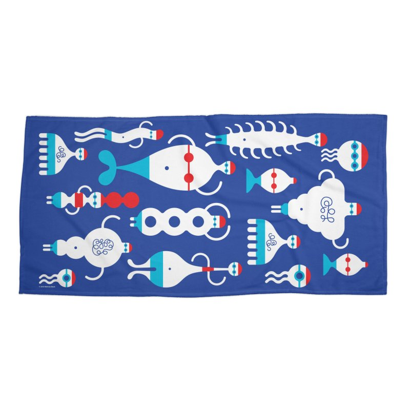 Swimmie Swimmers Accessories Beach Towel by Melinda Beck