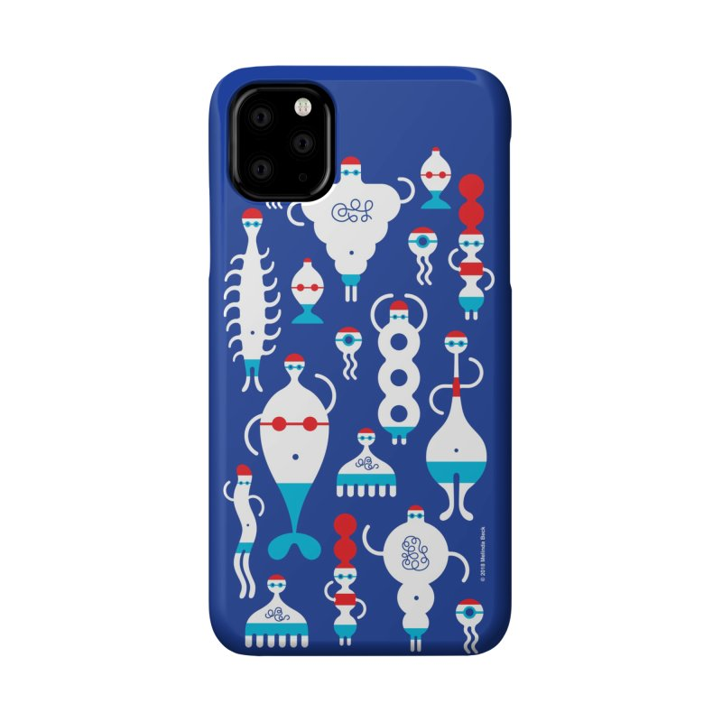 Swimmie Swimmers Accessories Phone Case by Melinda Beck