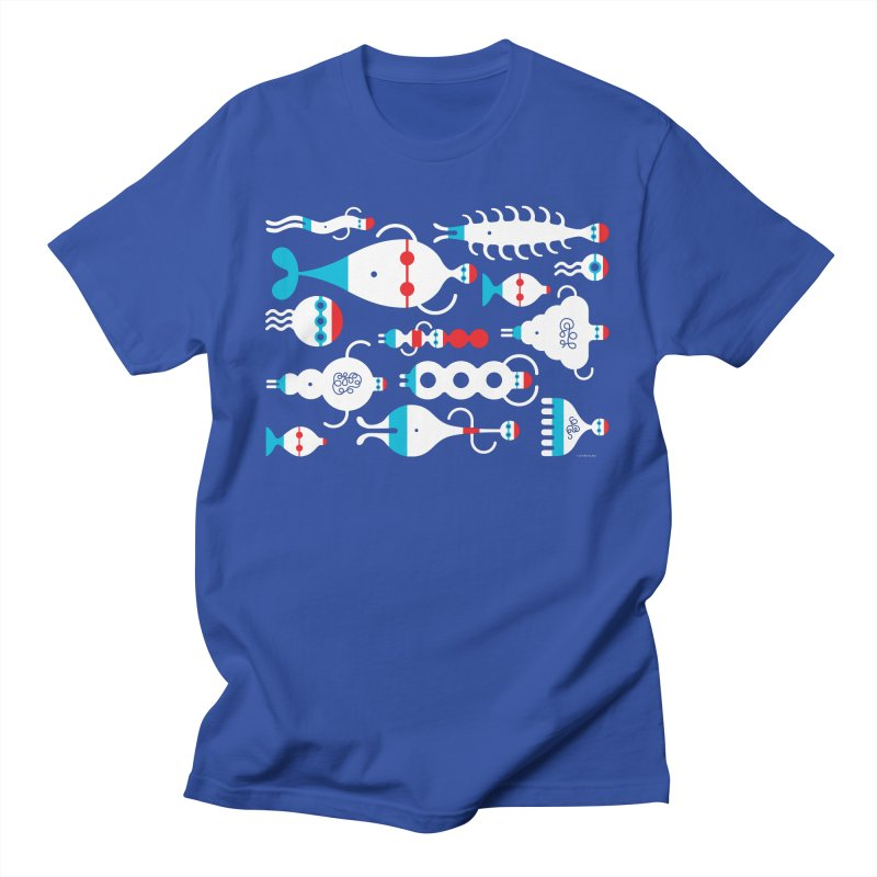 Swimmie Swimmers Men's T-Shirt by Melinda Beck