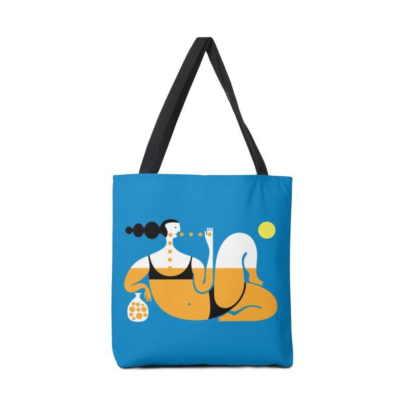 sunbather Accessories Bag by Melinda Beck