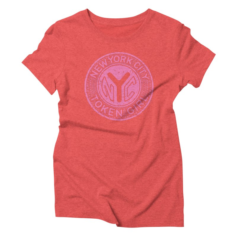 New York City Token Girl Women's T-Shirt by Melinda Beck