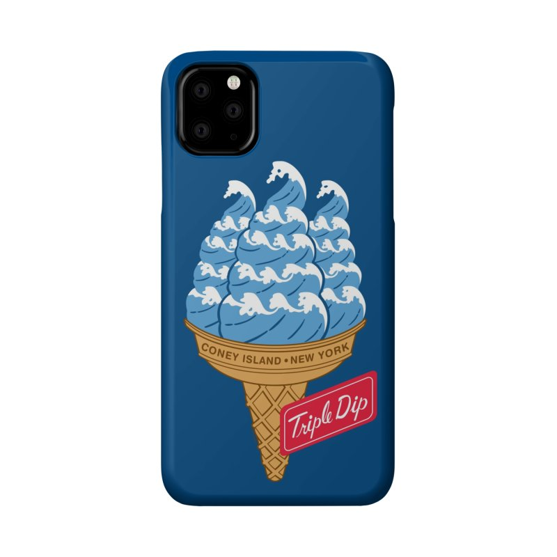 Coney Island Triple Dip Accessories Phone Case by Melinda Beck