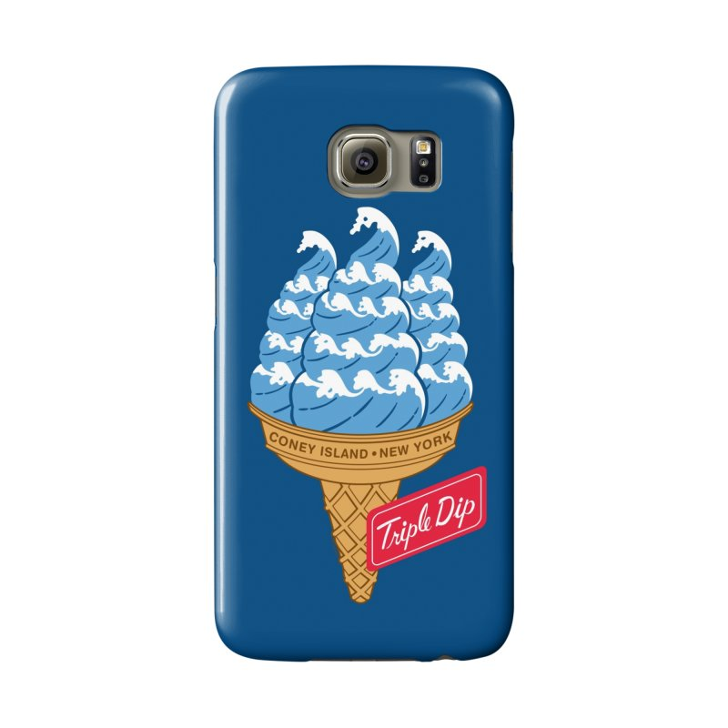 Coney Island Triple Dip Accessories Phone Case by Melinda Beck