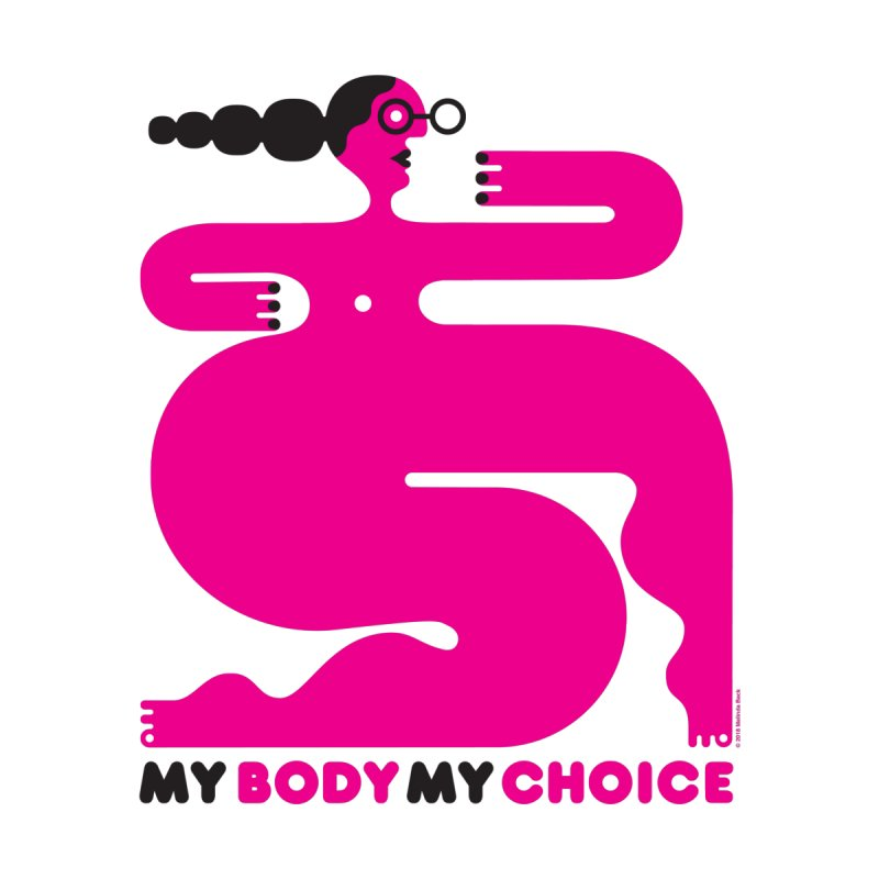 My Body My Choice: Pink Lady (50% of proceeds to Planned Parenthood) Accessories Mug by Melinda Beck
