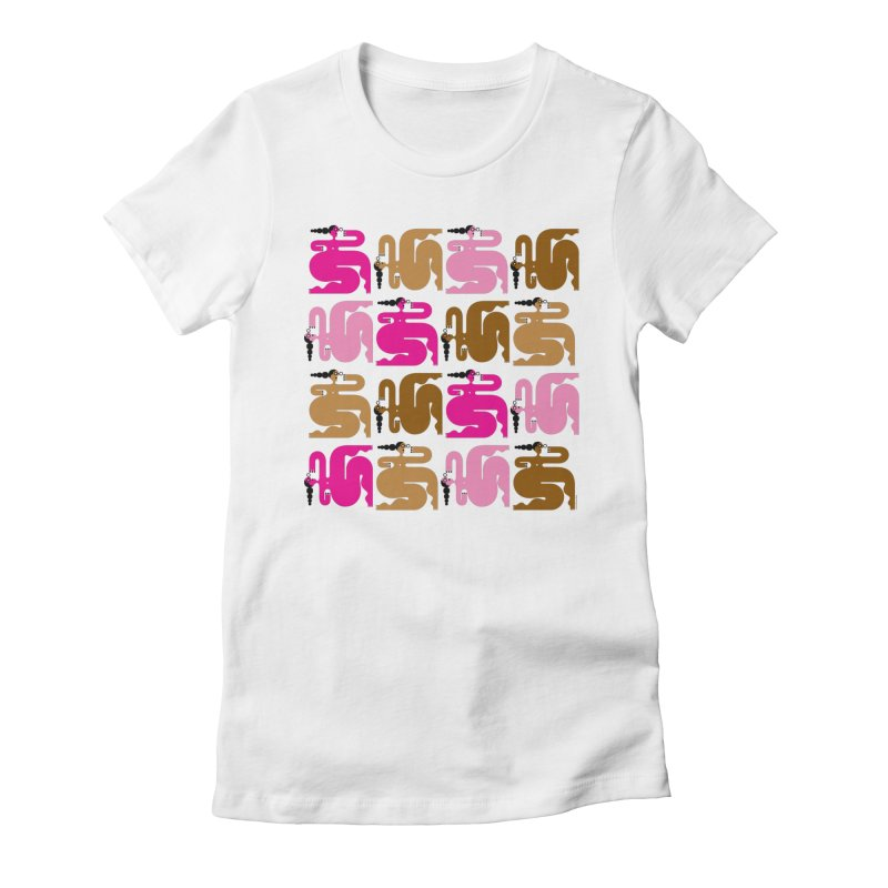 Luscious Ladies Women's T-Shirt by Melinda Beck