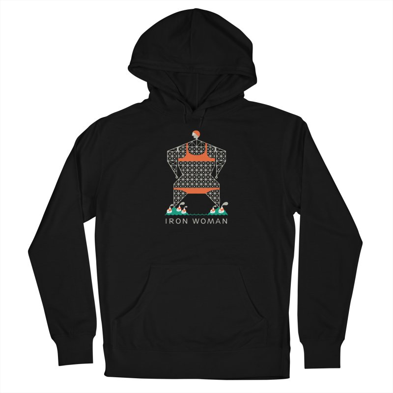 Iron Woman Women's Pullover Hoody by Melinda Beck
