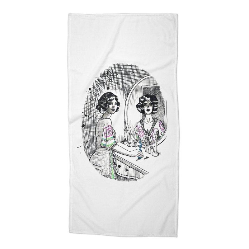 Secrets Accessories Beach Towel by Melisa Des Rosiers Artist Shop