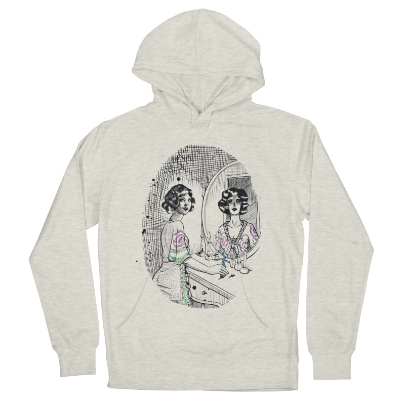 Secrets Men's French Terry Pullover Hoody by Melisa Des Rosiers Artist Shop