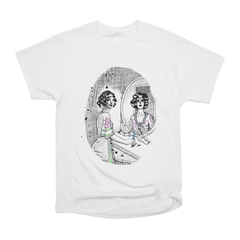 Secrets Men's Heavyweight T-Shirt by Melisa Des Rosiers Artist Shop