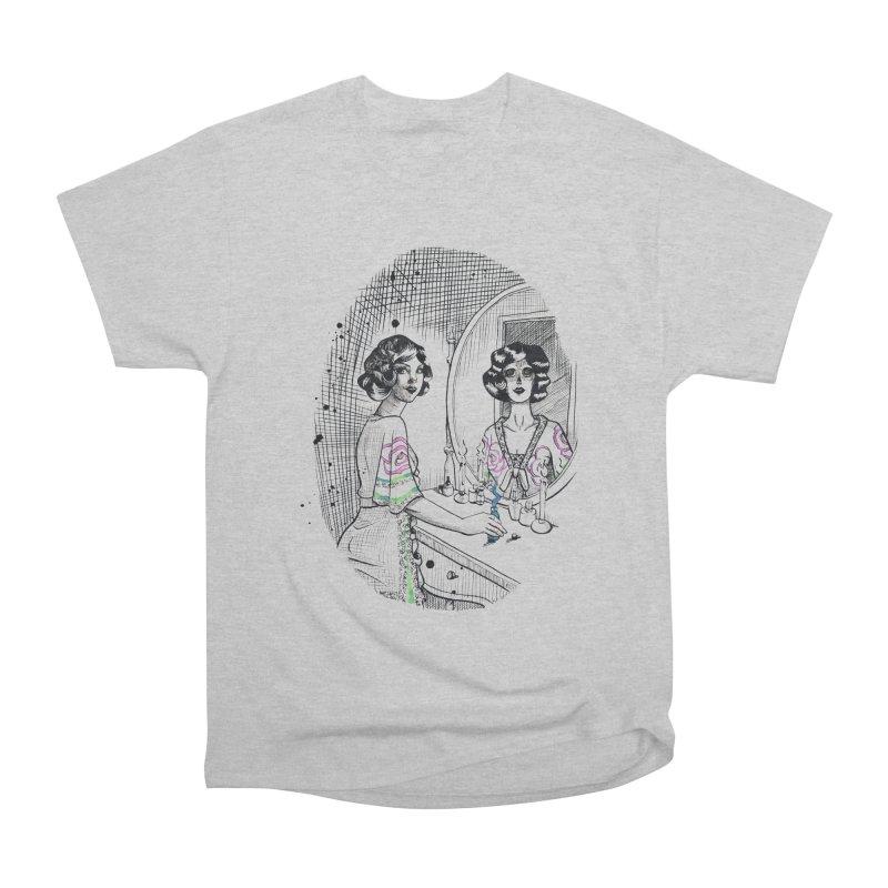 Secrets Men's Heavyweight T-Shirt by Melisa Des Rosiers Artist Shop