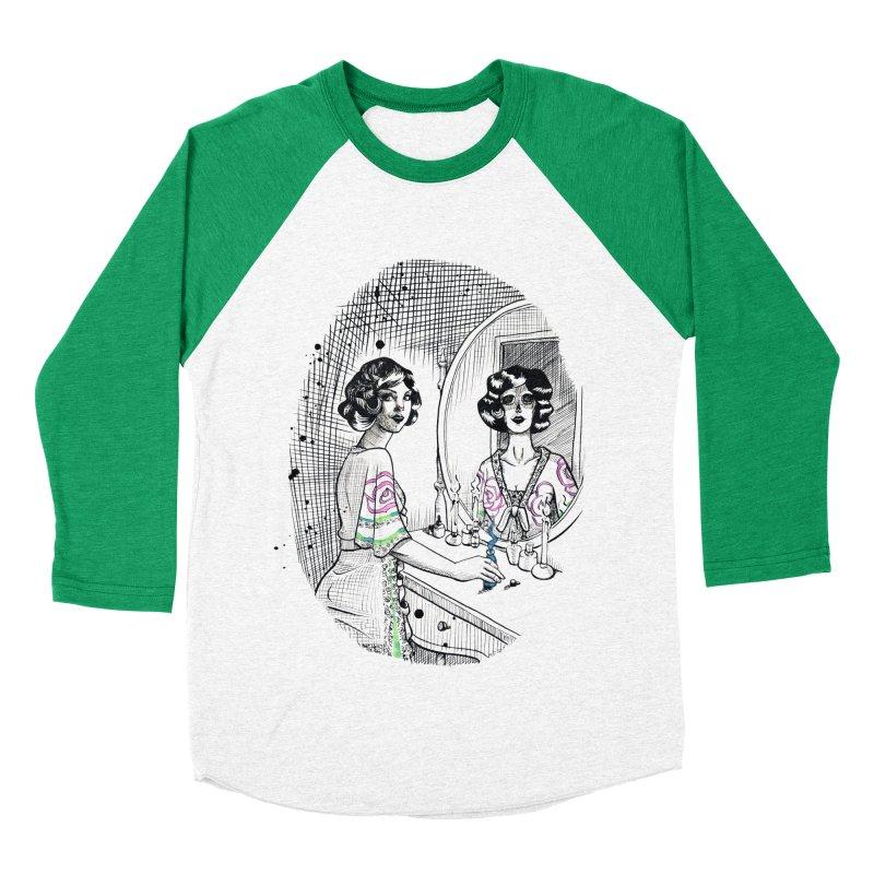 Secrets Women's Baseball Triblend Longsleeve T-Shirt by Melisa Des Rosiers Artist Shop