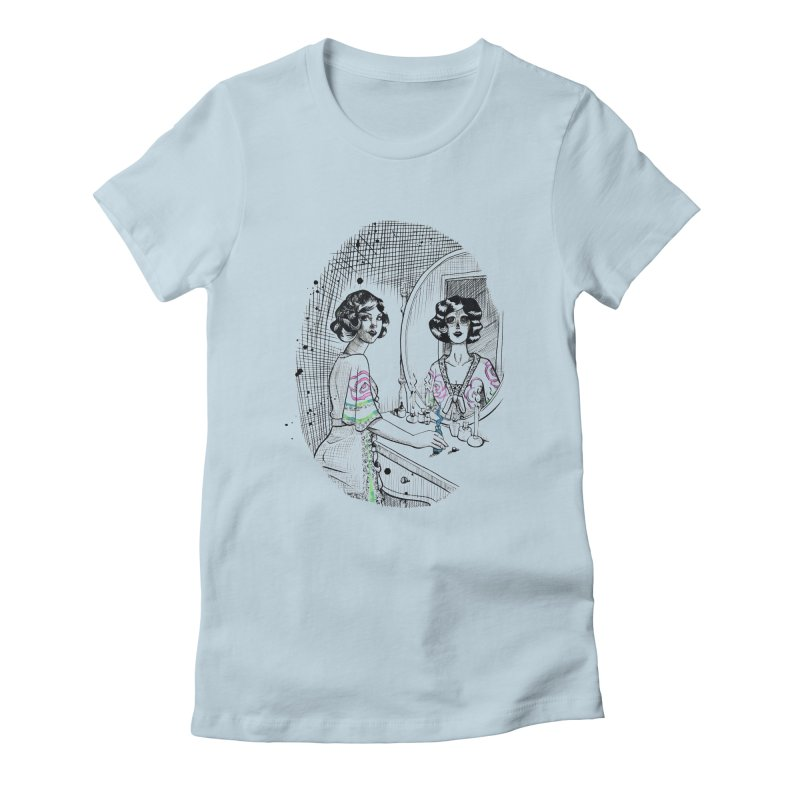 Secrets Women's Fitted T-Shirt by Melisa Des Rosiers Artist Shop
