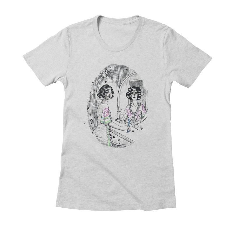 Secrets Women's Fitted T-Shirt by Melisa Des Rosiers Artist Shop