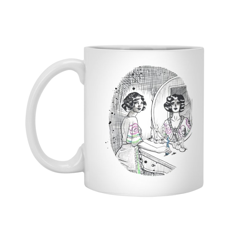 Secrets Accessories Standard Mug by Melisa Des Rosiers Artist Shop