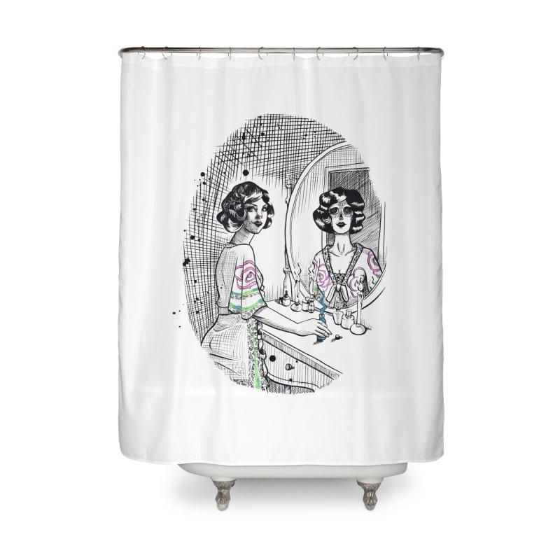 Secrets Home Shower Curtain by Melisa Des Rosiers Artist Shop