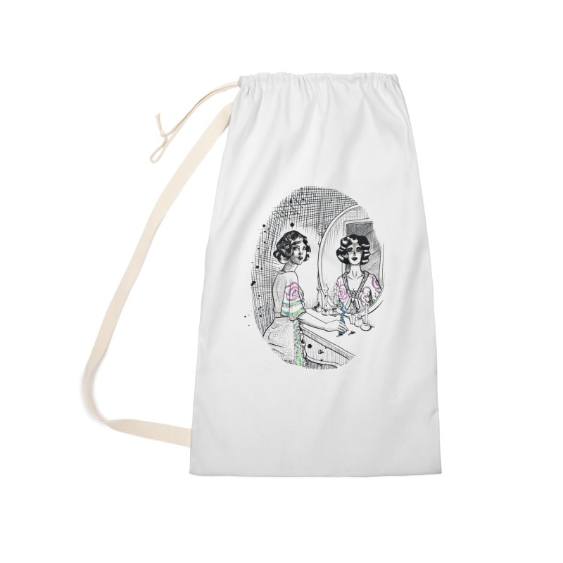 Secrets Accessories Laundry Bag Bag by Melisa Des Rosiers Artist Shop