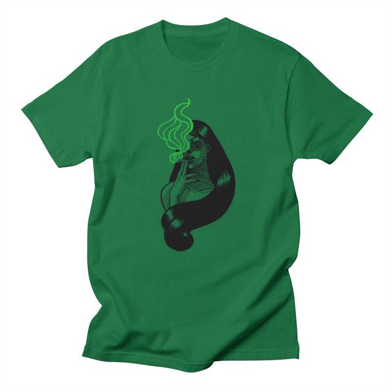 One Last Puff Women's Regular Unisex T-Shirt by Melisa Des Rosiers Artist Shop