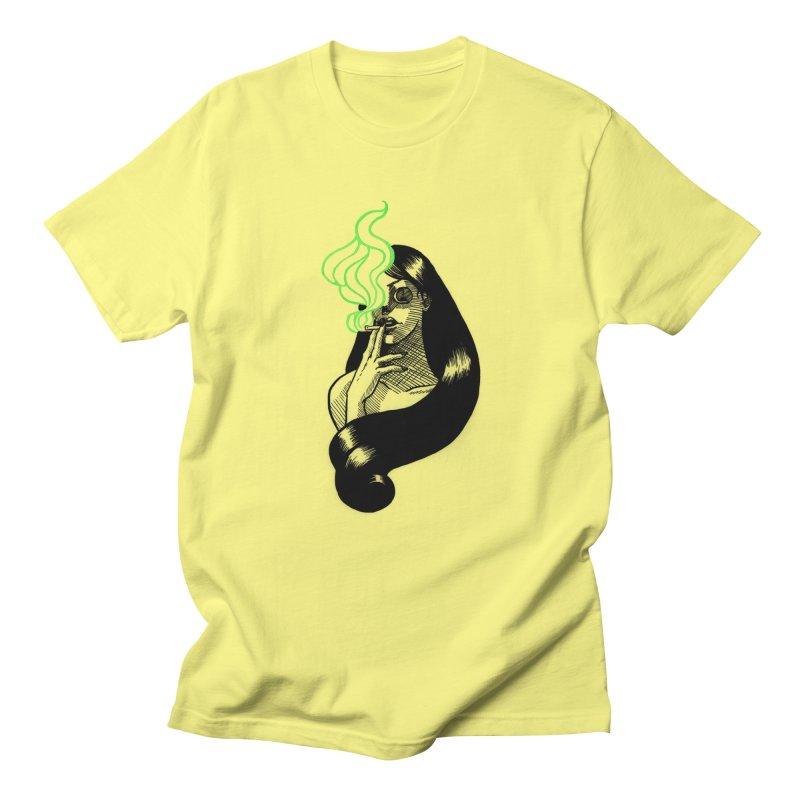 One Last Puff Men's Regular T-Shirt by Melisa Des Rosiers Artist Shop