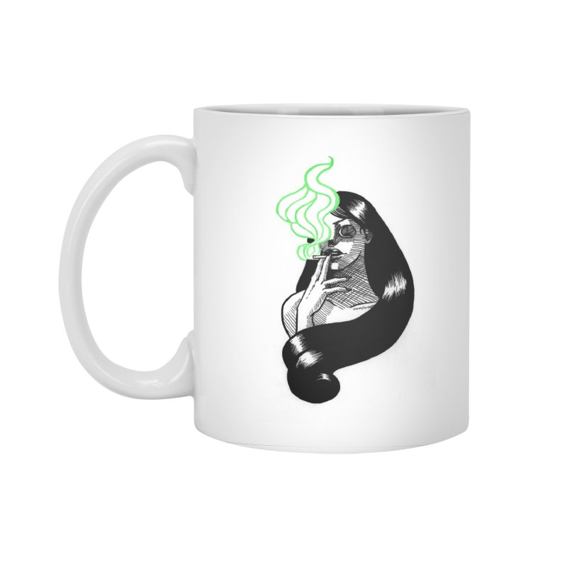 One Last Puff Accessories Standard Mug by Melisa Des Rosiers Artist Shop