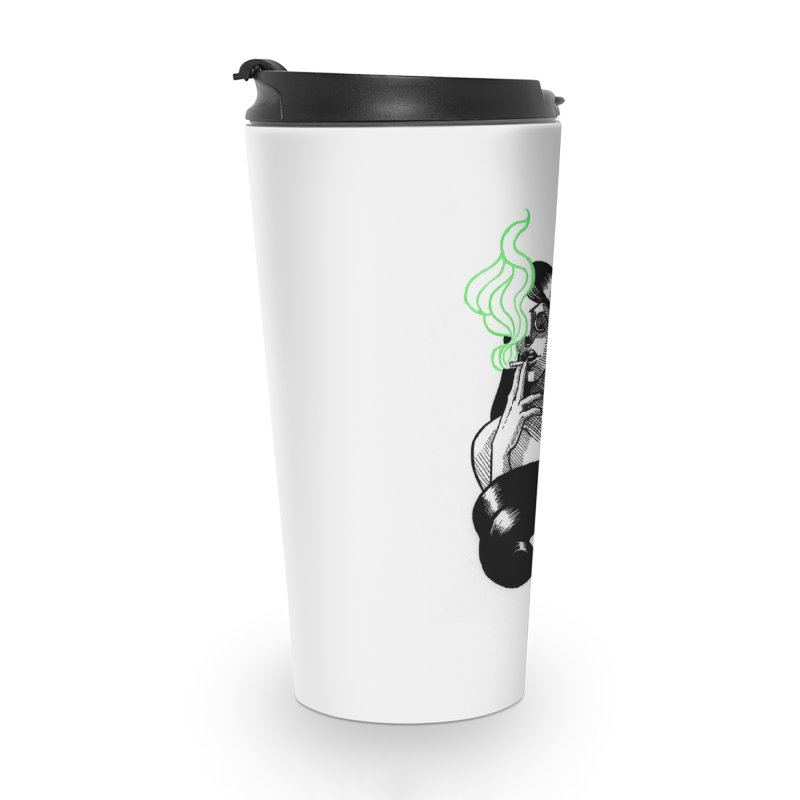 One Last Puff Accessories Travel Mug by Melisa Des Rosiers Artist Shop