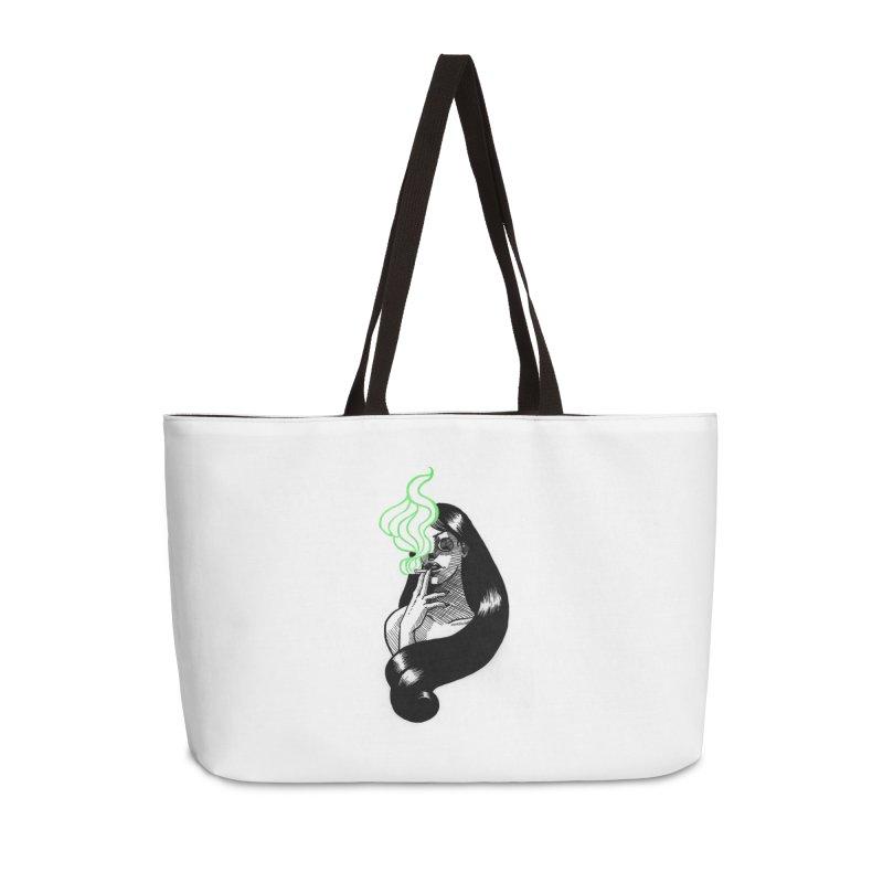 One Last Puff Accessories Weekender Bag Bag by Melisa Des Rosiers Artist Shop
