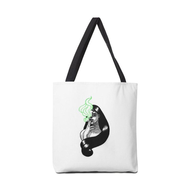 One Last Puff Accessories Tote Bag Bag by Melisa Des Rosiers Artist Shop