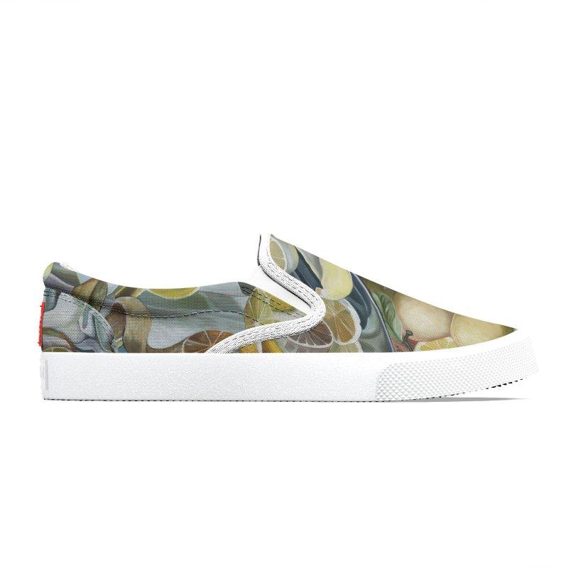 Lemons Men's Shoes by Melissa Furness's Artist Shop