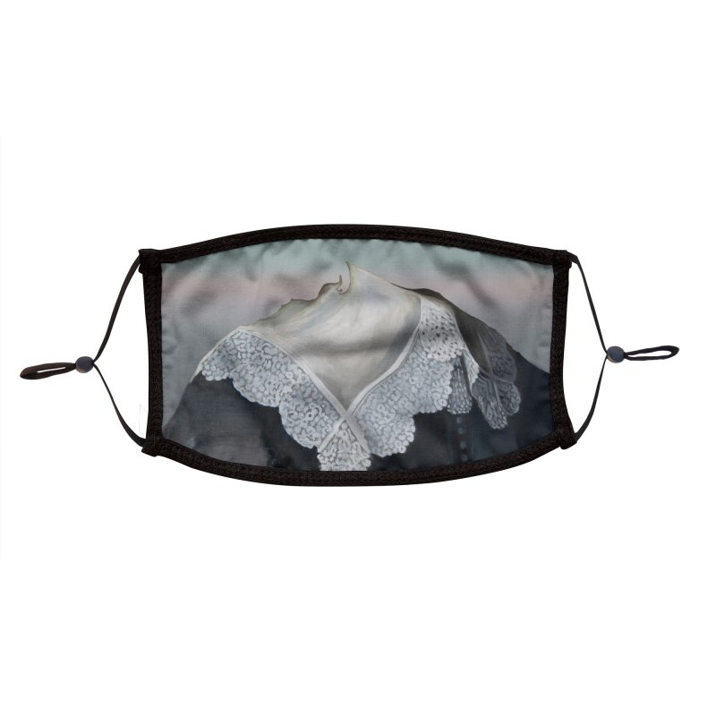 Collar Masked Accessories Face Mask by Melissa Furness's Artist Shop