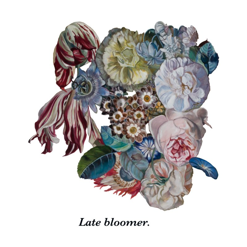 Late Bloomer. Men's T-Shirt by Melissa Furness's Artist Shop