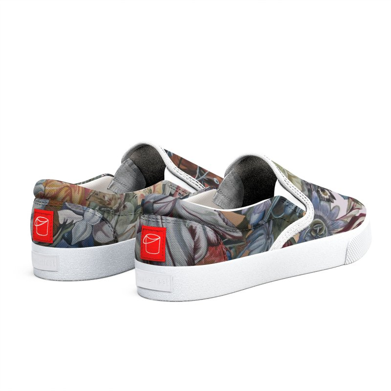 Flowers Men's Shoes by Melissa Furness's Artist Shop