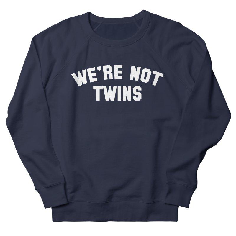 Not Twins (dark) Men's Sweatshirt by Melissa JR